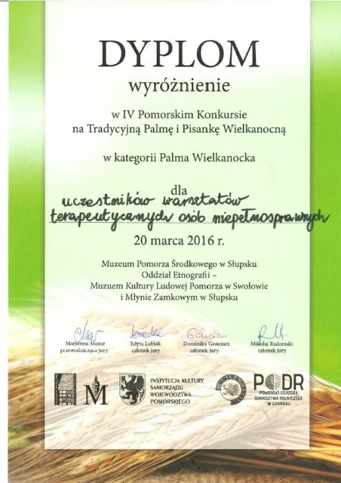 warsxztaty dyplom