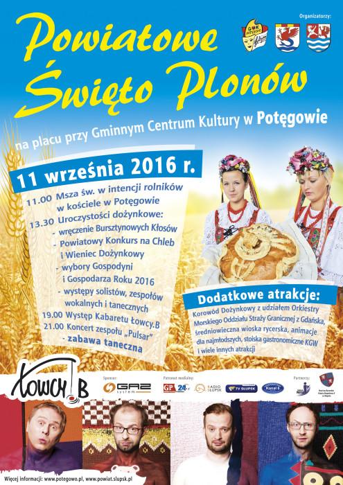 Powiatowe Swieto Plonow 2016 - Plakat 420x594 - DRUK